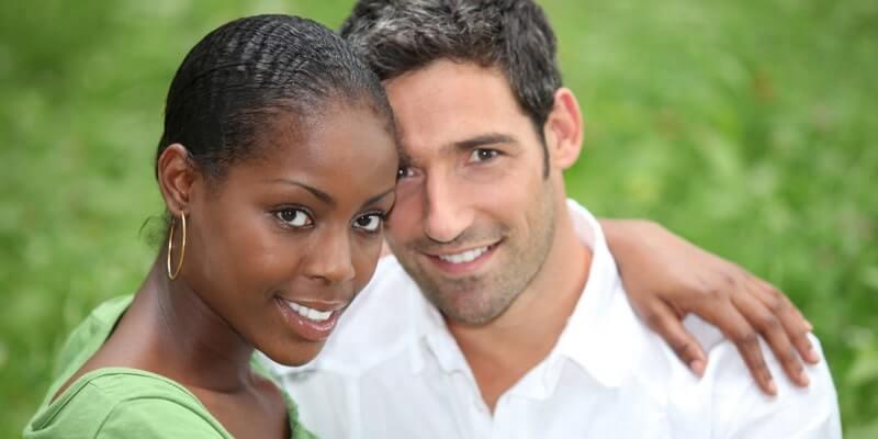 Interracial hookup