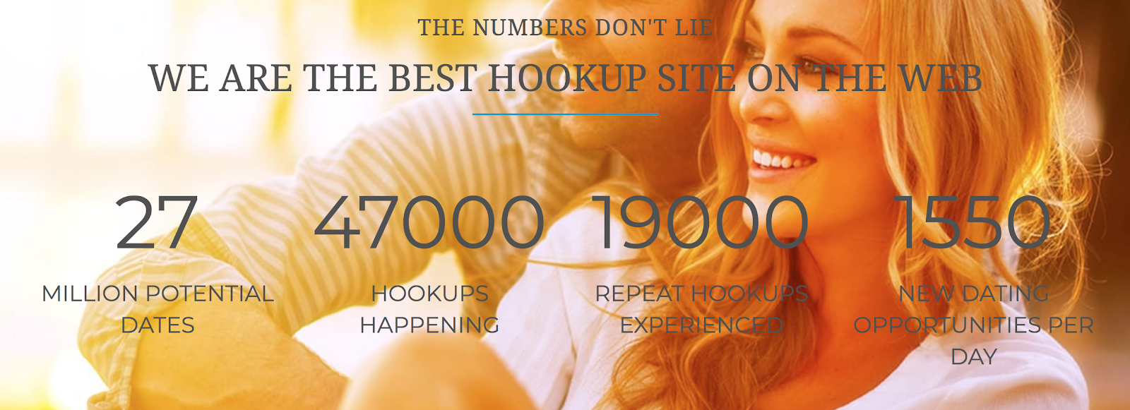 Instant hookup main page