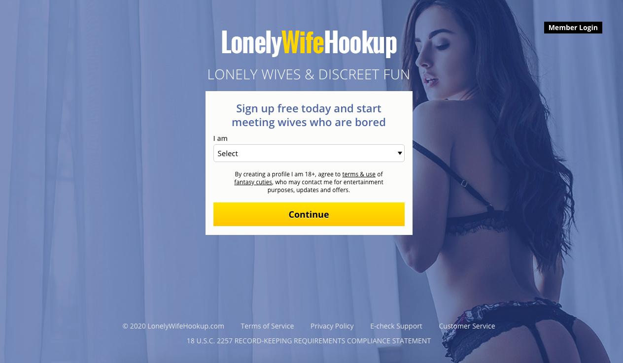 main page LonelyWifeHookup.Com